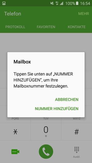 meine mailbox nummer