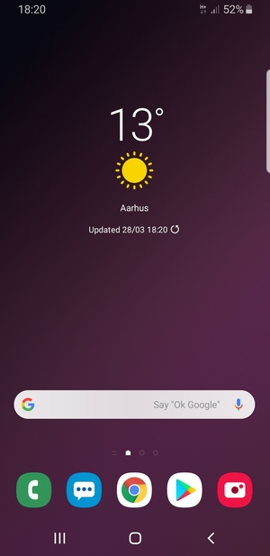 Switch between 3G/4G - Samsung Galaxy Note9 - Android 9 0