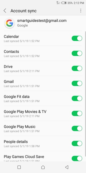 Import contacts - Infinix Smart 2 - Android 8 1 - Device Guides