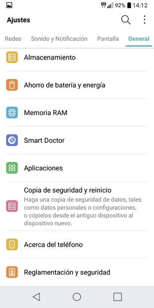 Actualice el software - LG Q6 - Android 7 1 - Device Guide