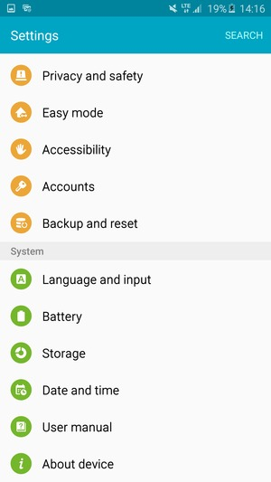 Update software - Samsung Galaxy A7 (2016) - Android 5 1