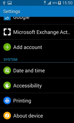 Update software - Samsung Galaxy Ace NXT - Android 4 4