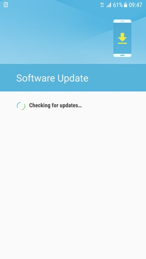 Update software - Samsung Galaxy S6 - Android 7 0 - Device