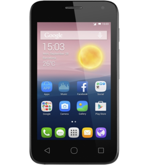Access voicemail - Alcatel One Touch Pixi First - Android 4 4