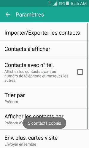 Vos Contacts Vont Tre Enregistrs Sur Votre Compte Google Et Dans Tlphone Lors De La Prochaine Synchronisation
