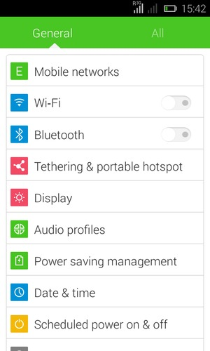 Secure phone - Tecno Y2 - Android 4 4 - Device Guides