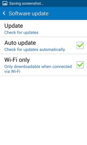 Update software - Samsung Galaxy J1 4G - Android 4 4