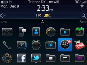 Select BlackBerry World