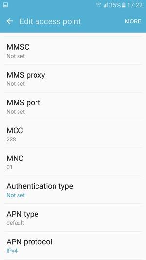 Set up Internet - Samsung Galaxy J5 Prime - Android 6 0