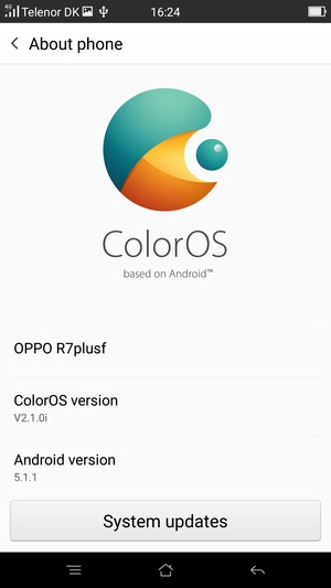 Update software - OPPO Android - Android 5 1 - Device Guides