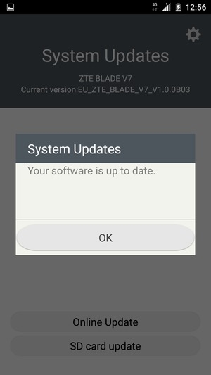 Update software - ZTE Android - Android 6 0 - Device Guides