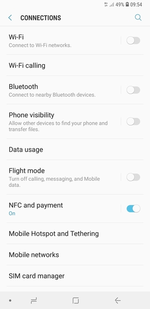 Set up Internet - Samsung Galaxy A7 (2018) - Android 8 0