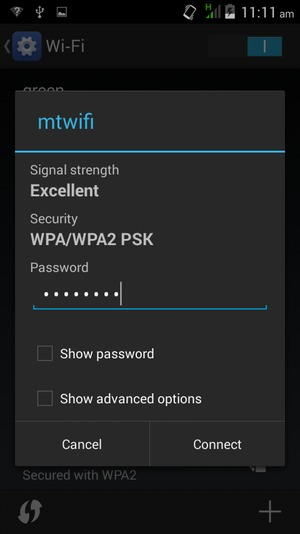 how to connect sky to wifi