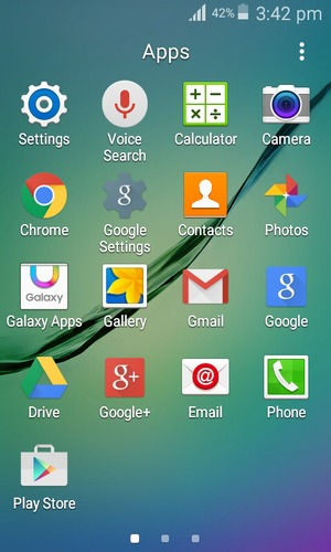 Set up Internet - Samsung Galaxy J1 Ace - Android 5 1