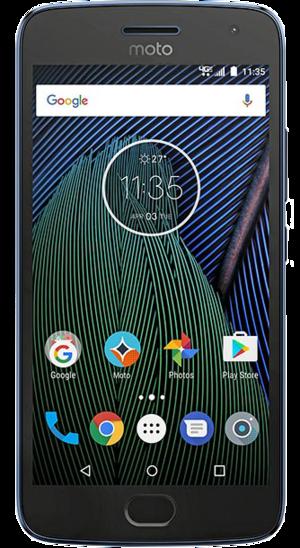Turn sound on/off - Motorola Moto G5 Plus - Android 7 0