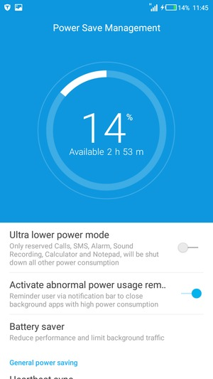 Extend battery life - Tecno L8 - Android 5 1 - Device Guides