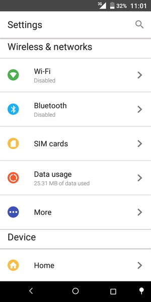 Use phone as modem - Alcatel 1C - Android 7 0 - Device Guides