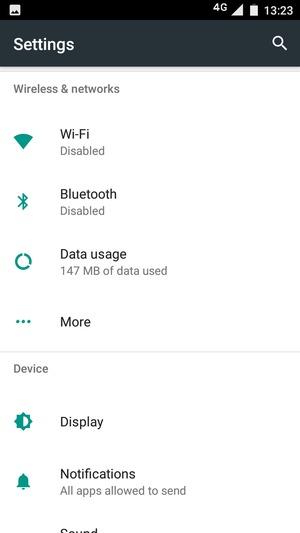 Set up Internet - Motorola Moto C Plus - Android 7 0