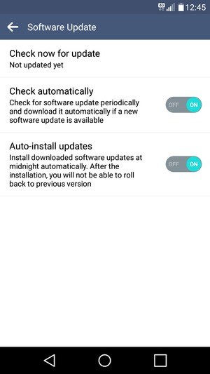 Update software - LG K7 - Android 5 1 - Device Guides