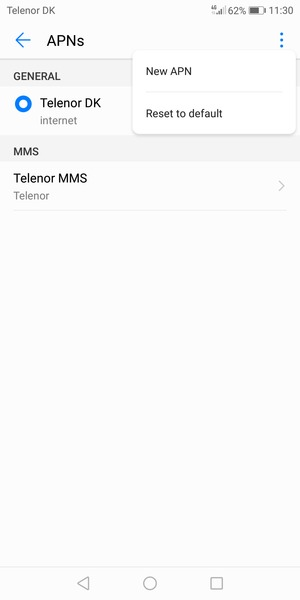 Set up Internet - Huawei P20 Lite - Android 8 0 - Device Guides