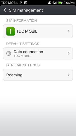 Set up roaming - Xiaomi Redmi Note - Android 4 2 - Device Guides