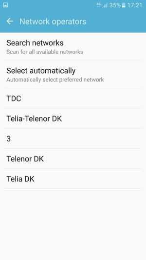 Set up roaming - Samsung Galaxy J7 Prime - Android 6 0