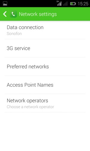 Set up Internet - Tecno Y2 - Android 4 4 - Device Guides