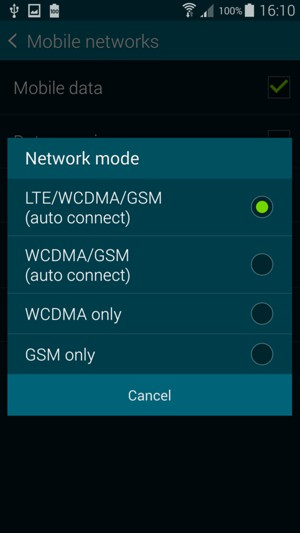 Switch Between 3g 4g Samsung Galaxy S5 Android 4 4 Device Guides