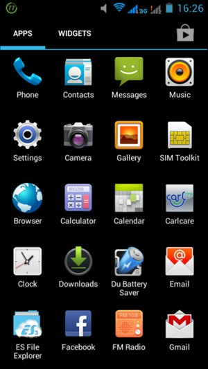 Set up Internet - Itel iNote Beyond 3G - Android 4 1 - Device Guides