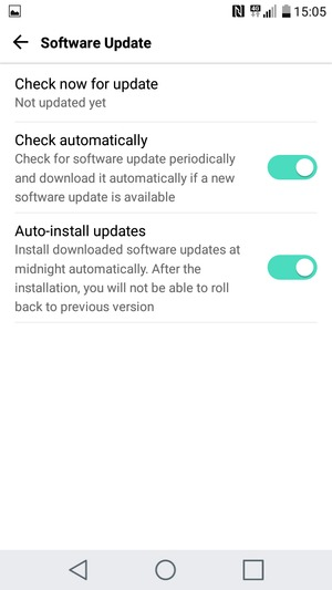 Update software - LG K10 (2017) - Android 7 0 - Device Guides