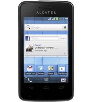 Connect to Wi-Fi - Alcatel One Touch Pixi - Android 2 3