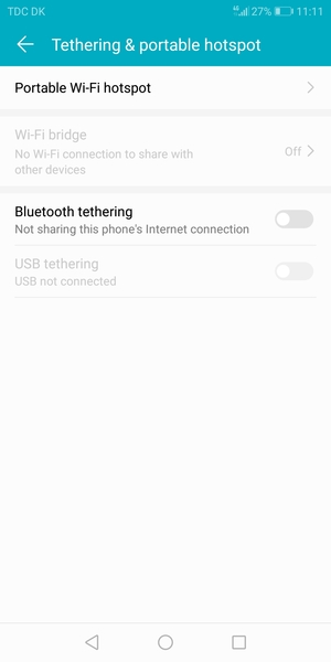 Use phone as modem - Huawei Honor 9 Lite - Android 8 0 - Device Guides