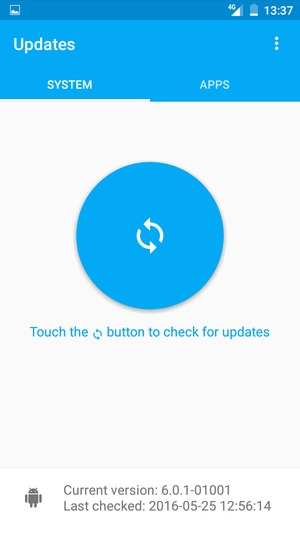 Update software - Alcatel One Touch Pixi 4 (6) - Android 6 0