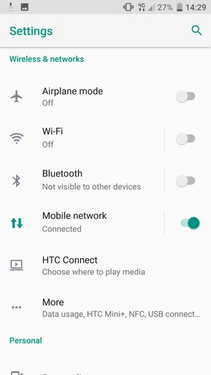 Select Mobile network