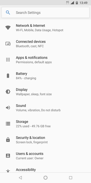 Set up Internet - Nokia 3 1 Plus - Android 8 1 - Device Guides