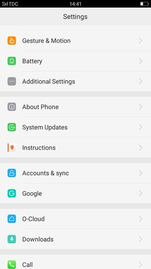 Import contacts - OPPO A57 - Android 6 0 - Device Guides
