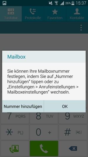galaxy a5 mailbox einrichten