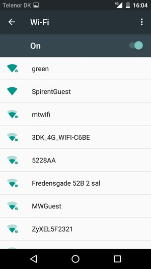 Connect to Wi-Fi - ZTE Blade A512 - Android 6 0 - Device Guides