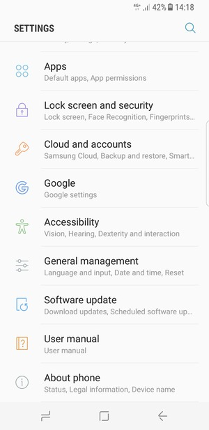 2018 Galaxy Android Samsung 1 - 7 A8 Update Software Device