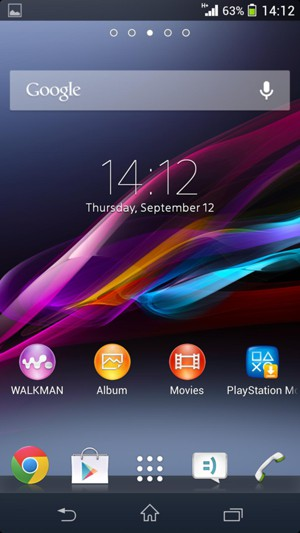Update software - Sony Xperia M - Android 4 3 - Device Guides