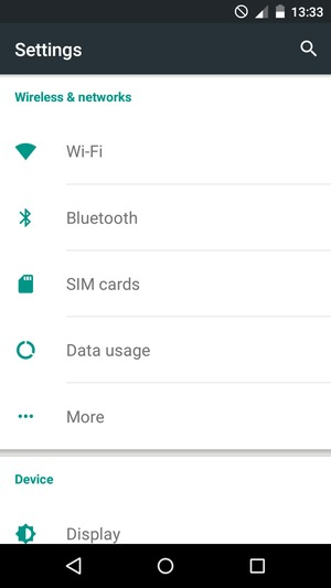 Set up Internet - Infinix Hot 2 - Android 5 1 - Device Guides