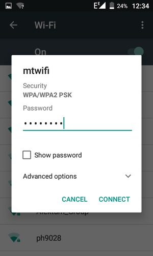 Connect to Wi-Fi - Tecno S1 - Android 6 0 - Device Guides