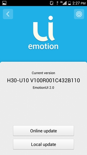 Update software - Huawei Honor 3C - Android 4 2 - Device Guides