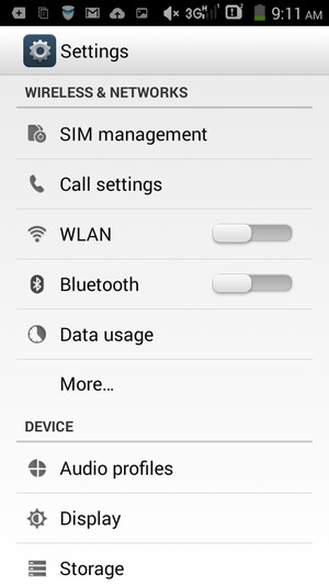 Set up Internet - Lenovo Android - Android 4 4 - Device Guides
