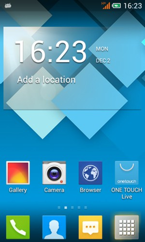Set up MMS - Alcatel One Touch Pop C1 - Android 4 2 - Device Guides