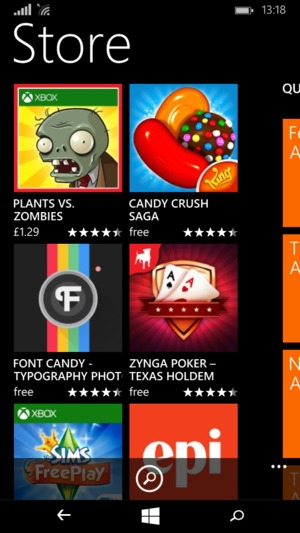 Install apps - Microsoft Lumia 532 - Windows Phone 8 1 - Device Guides