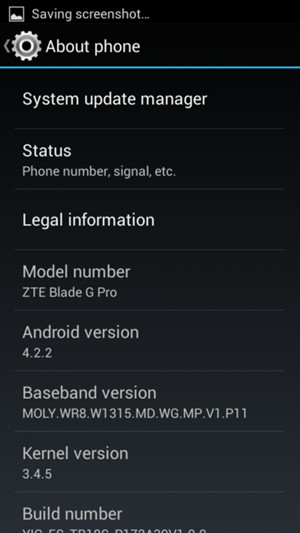 Update software - ZTE Blade L2 - Android 4 2 - Device Guides
