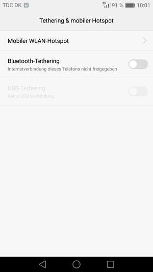 verwendung des handys als modem huawei nova android 6 0 device guides. Black Bedroom Furniture Sets. Home Design Ideas