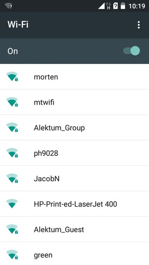 Connect to Wi-Fi - Itel IT1409 - Android 5 1 - Device Guides