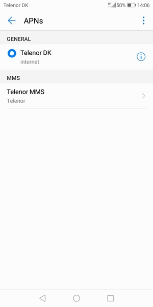 Set up Internet - Huawei Y6 (2018) - Android 8 0 - Device Guides